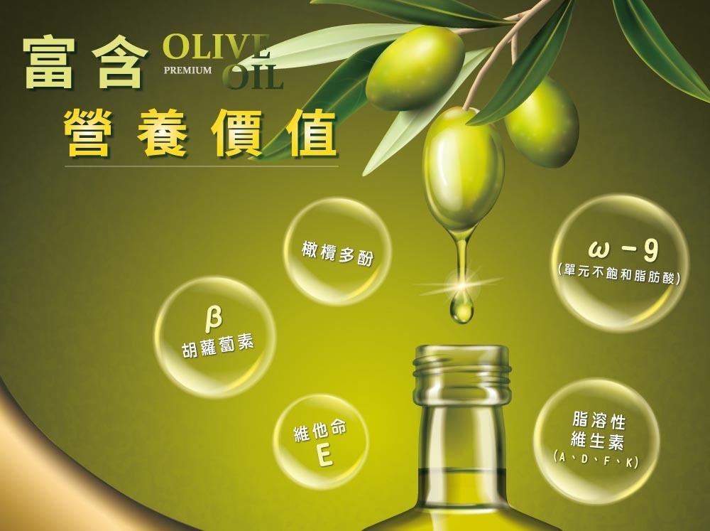 橄欖油富含營養價值